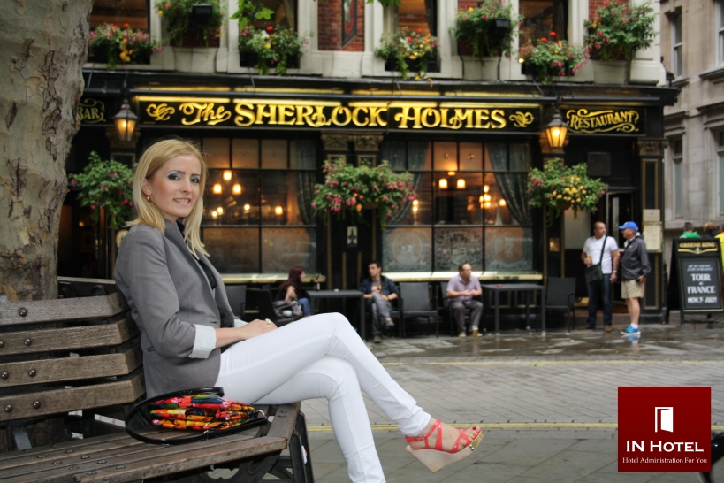 The SHERLOCK HOLMES Restaurant, London